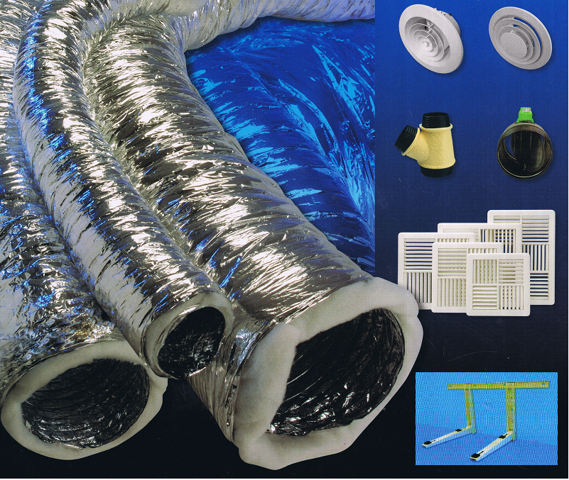AIR CON FITTING MATERIALS