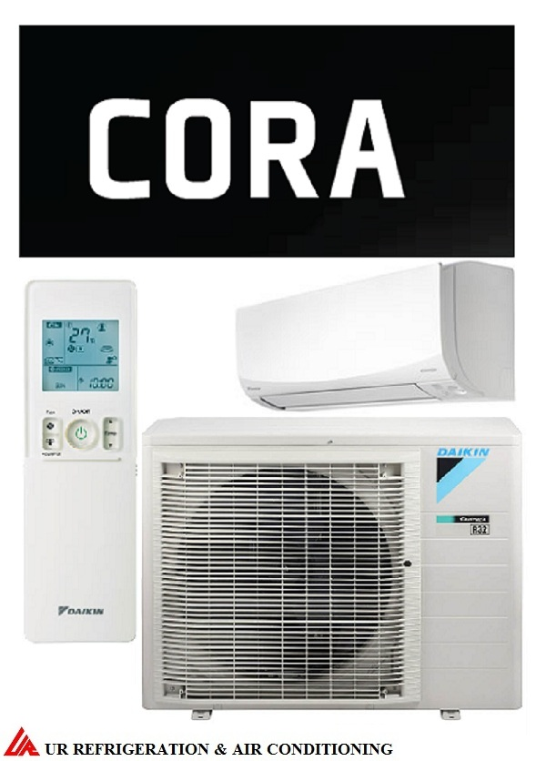 DAIKIN CORA split system air conditioner. Model: FTXM25Q