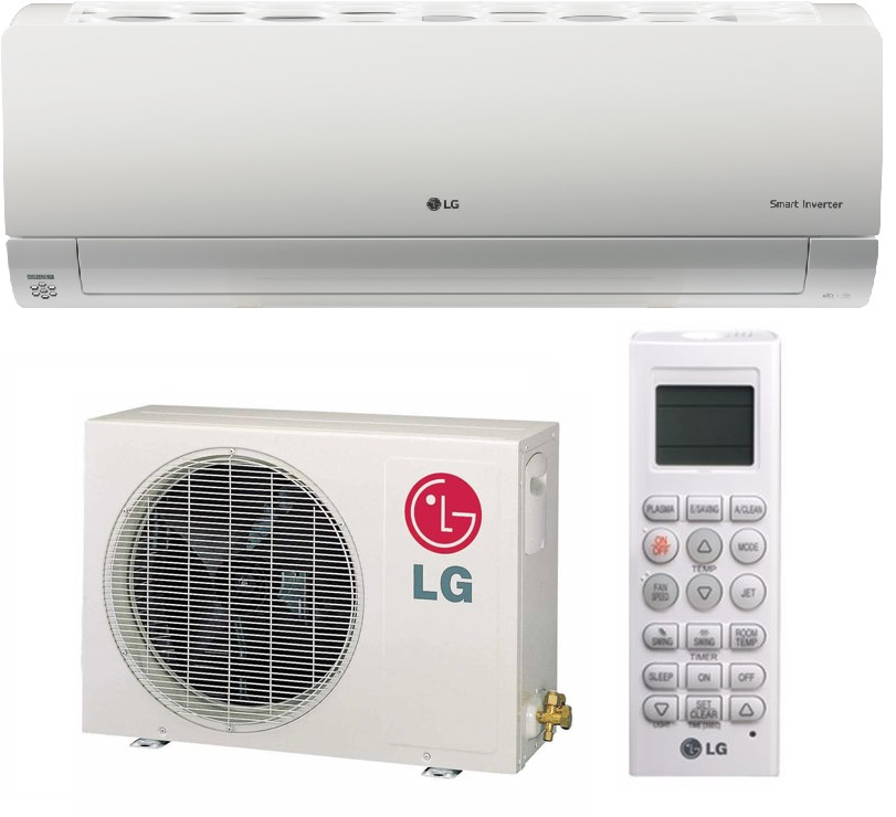 LG Air conditioner. Model no: T09AWN-NM17
