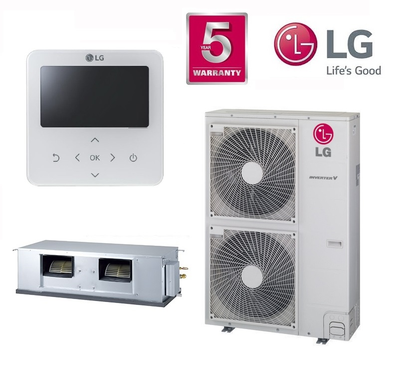 LG Ducted System Model No. B36AWYN7G5A