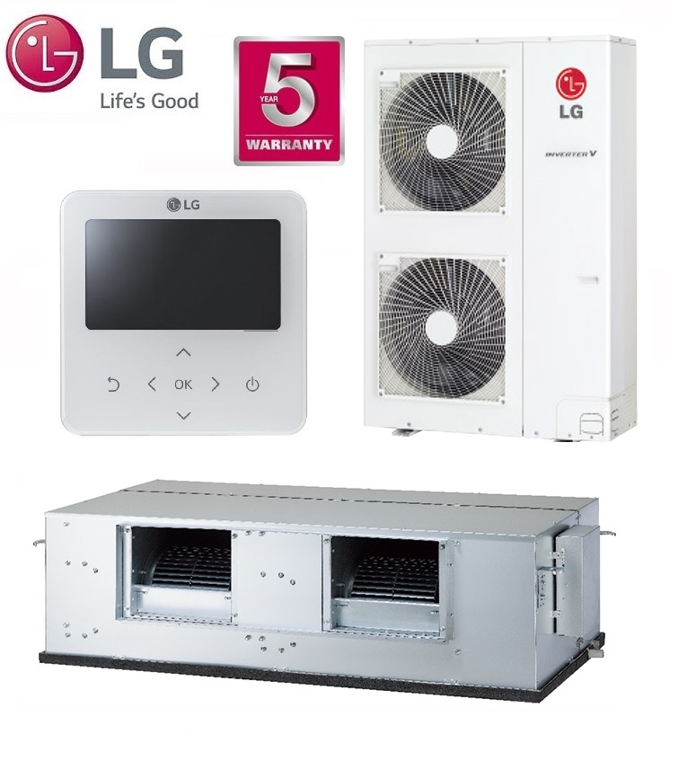 LG Ducted System Model No. B62AWYN7G5A