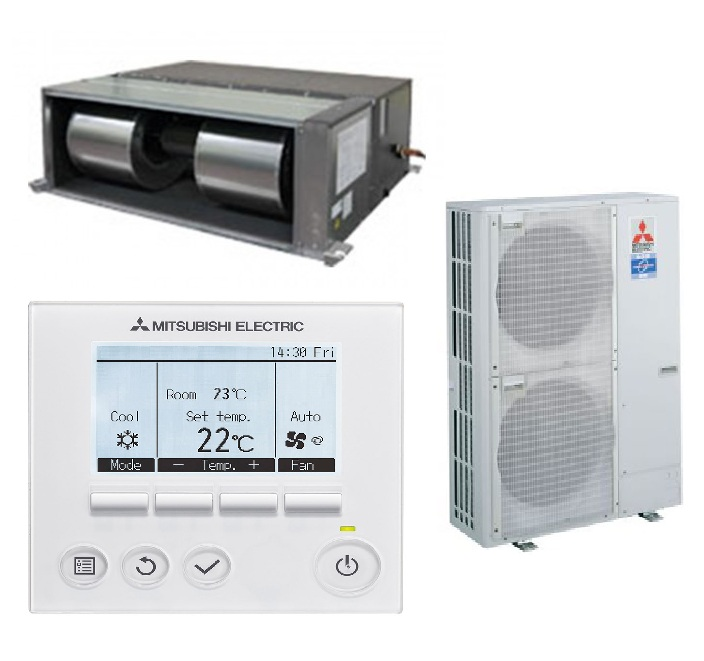 Mitsubishi Electric Ducted System: PEA-RP170WJA.