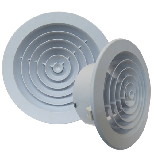 Round Jet Diffusers size 200 mm / 8""