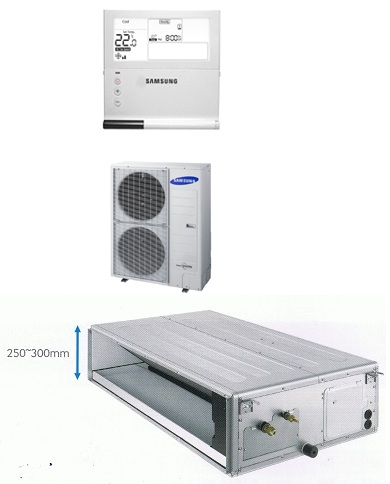 Samsung Ducted System AC140HBHFKH/SA