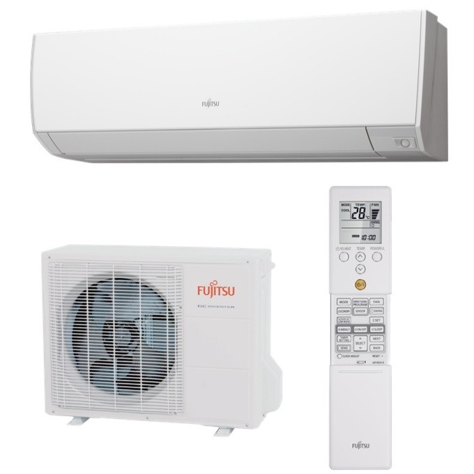 Fujitsu Airconditioner Model No: ASTG24KMCA