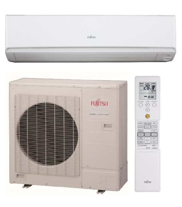 Fujitsu Airconditioner Model No: ASTG34KMTA