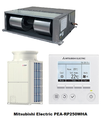 Mitsubishi Electric Ducted System: PEA-RP250WHA