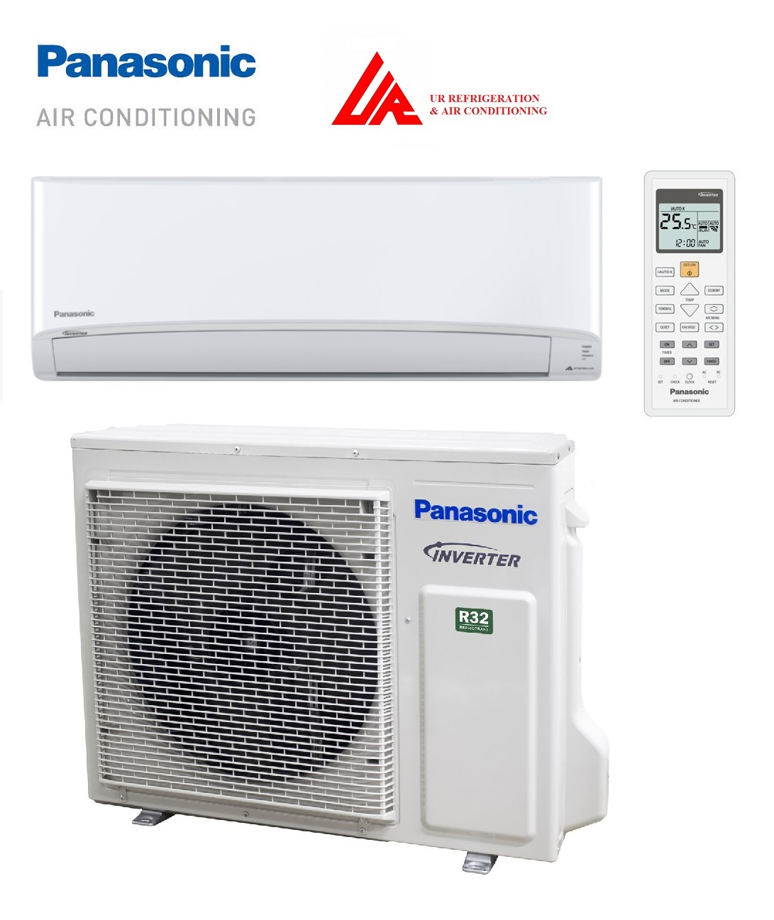 Panasonic Air conditioner model: CS/CU-RZ80VKR