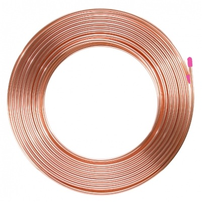 "SOFT DRAWN COPPER PIPE. 1/2"". 12.7mm"