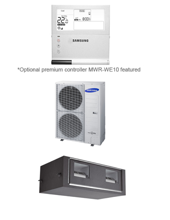 Samsung Ducted System AC160JNHFKH/SA.